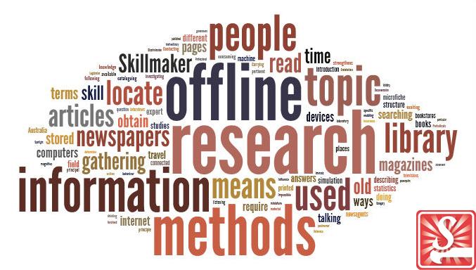 offline research methods